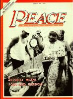 Peace Magazine August 1985