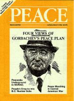 Peace Magazine Apr-May 1986