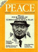 Peace Magazine Apr-May 1986