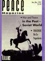 Peace Magazine Nov-Dec 1992
