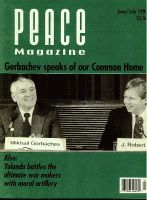 Peace Magazine Jun-Jul 1993