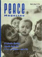 Peace Magazine Mar-Apr 1994