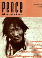 Peace Magazine Sep-Oct 1994