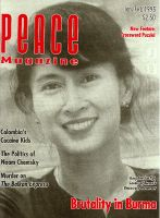 Peace Magazine Jan-Feb 1995
