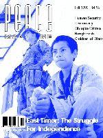 Peace Magazine Fall 1999