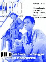 Peace Magazine Fall 1999
