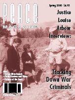 Peace Magazine Spring 2000