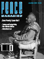 Peace Magazine Jan-Mar 2001
