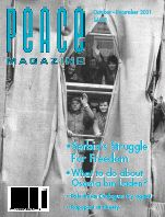 Peace Magazine Oct-Dec 2001