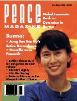 Peace Magazine Oct-Dec 2003