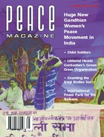 Peace Magazine Jan-Mar 2004