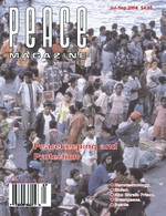 Peace Magazine Jul-Sep 2004