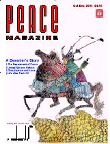 Peace Magazine Oct-Dec 2005
