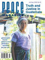 Peace Magazine Jul-Sep 2009