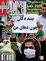 Peace Magazine Oct-Dec 2009