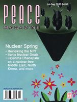 Peace Magazine Jul-Sep 2010