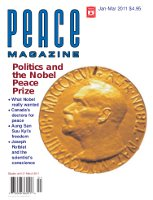 Peace Magazine Jan-Mar 2011
