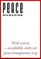 Peace Magazine Web extras 2012