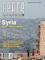 Peace Magazine Apr-Jun 2012