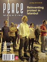 Peace Magazine Jul-Sep 2013