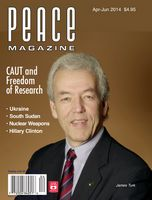Peace Magazine Apr-Jun 2014