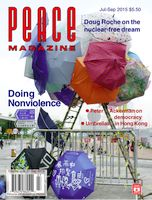 Peace Magazine Jul-Sep 2015