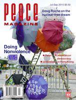 Peace Magazine Jul-Sep 2015
