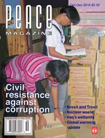 Peace Magazine Oct-Dec 2016